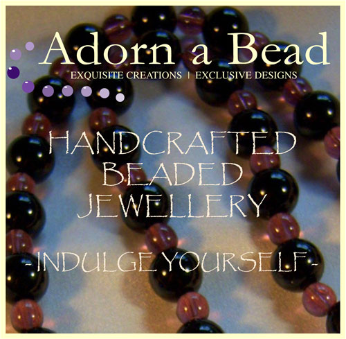 adorn a bead, handmade beaded jewellery, exquisite creations and exclusive designs to indulge yourself